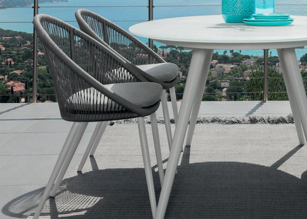 Fauteuil De Repas De Jardin Design Et Tendance Chez Ksl Living En 2020 Fauteuil De Table Chaise De Jardin Table De Dejeuner
