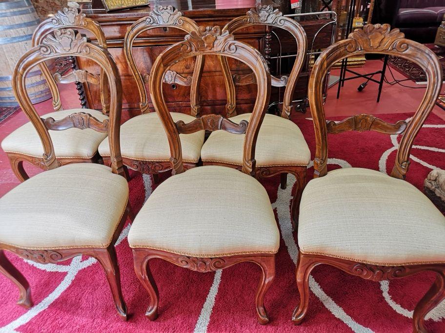 set da 6 sedie classiche imbottite - nientedinuovo.it nel ...