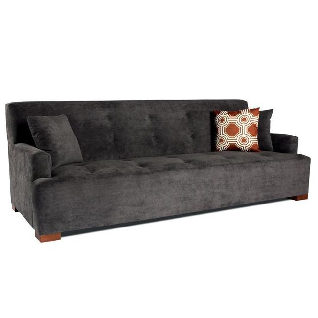 U0027The Jasperu0027 Sofa By JAR Designs Features Grey Upholstery And A Chic Design.