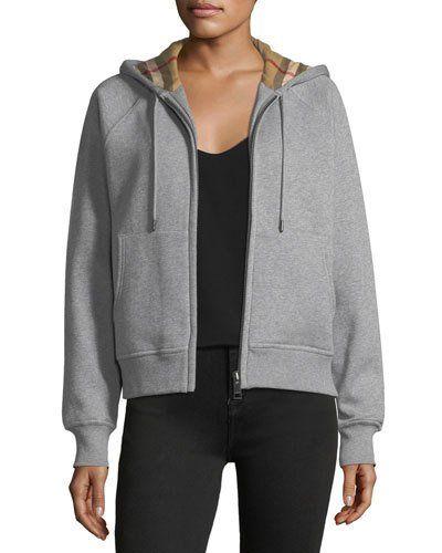 grey burberry jacket