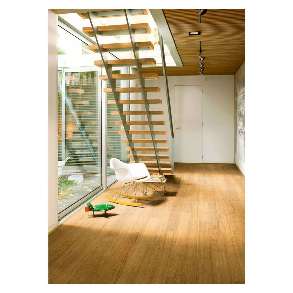 Sens Bamboo Flooring Straw 12mm - Masters Home Improvement