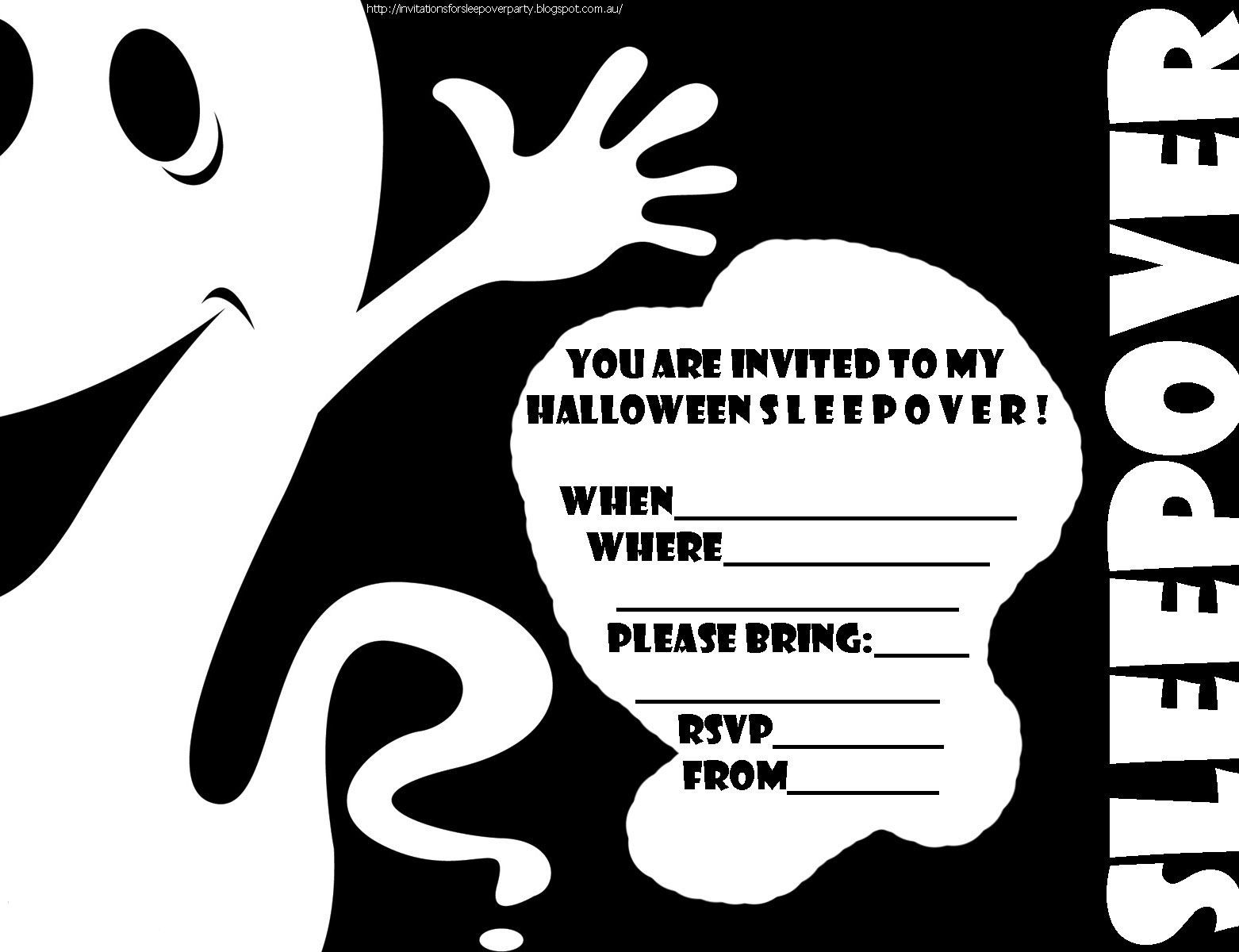 Images of Example Of Halloween Party Invitation - Halloween Ideas
