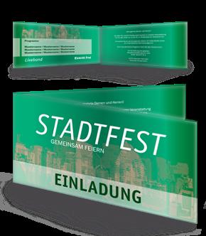 Personalisierbare Gemeindefest Einladungen von onlineprintxxl.com #gemeindefest #einladung #einladungskarten