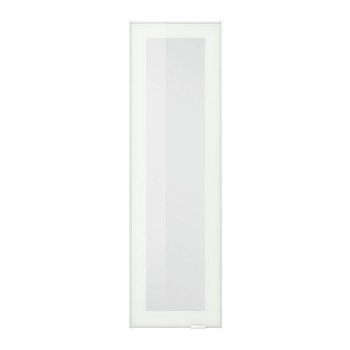 JUTIS Vitriiniovi IKEA 25 vuoden takuu. Lisätietoja ja takuuehdot takuuvihkosessa. Oven voi asentaa oikea- tai vasenkätiseksi.