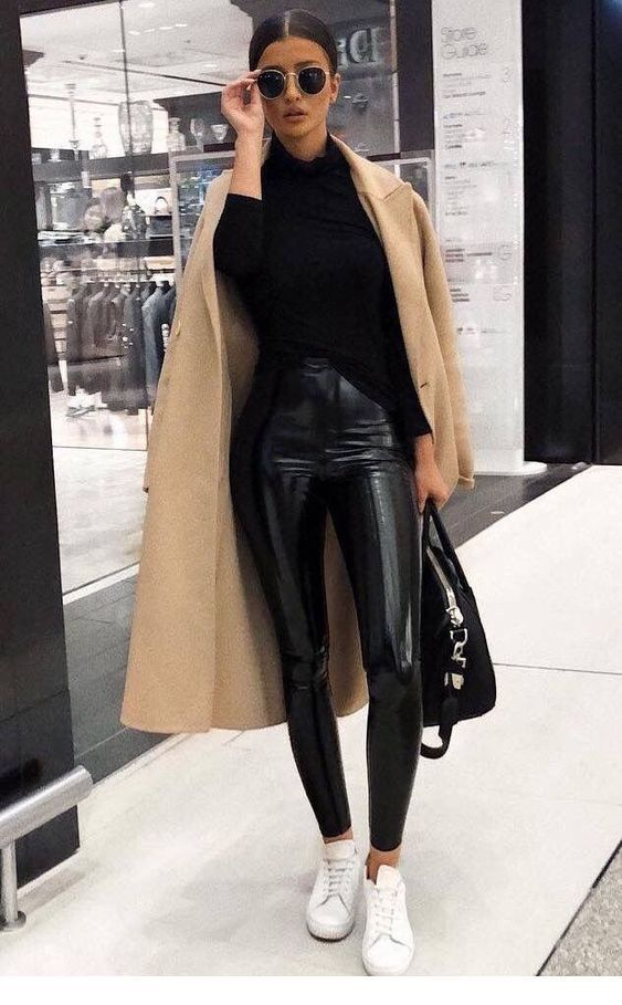 Cool leather pants look – Miladies.net