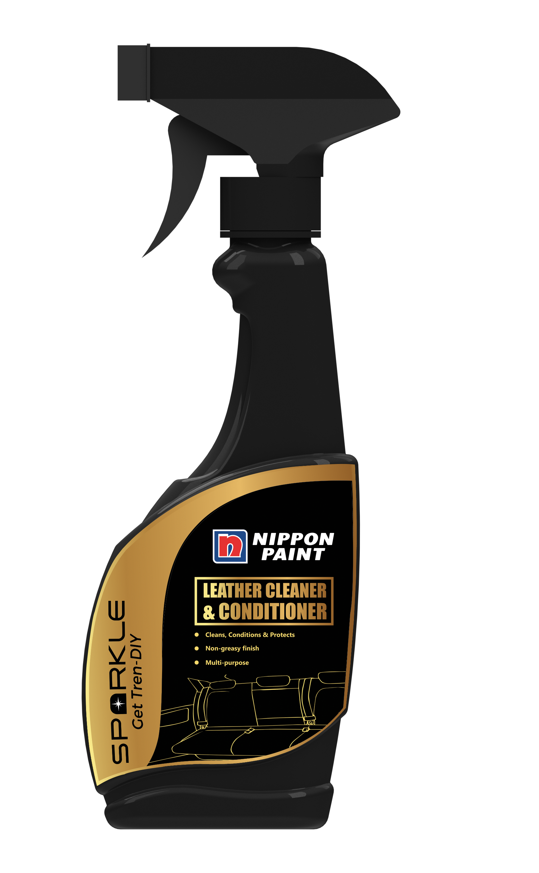 Leather Cleaner And Conditioner By Nippon Paint Ensures Effective Cleaning For Leather And Prevents Dulling Fading And Cra Nippon Paint Spray Wax Dry Car Wash