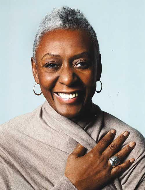 Grey Hair African American Woman: Black Women Hairstyles : Cute Short Pixie Hairstyles For
