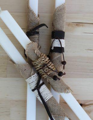 meli - handmade: My easter candles