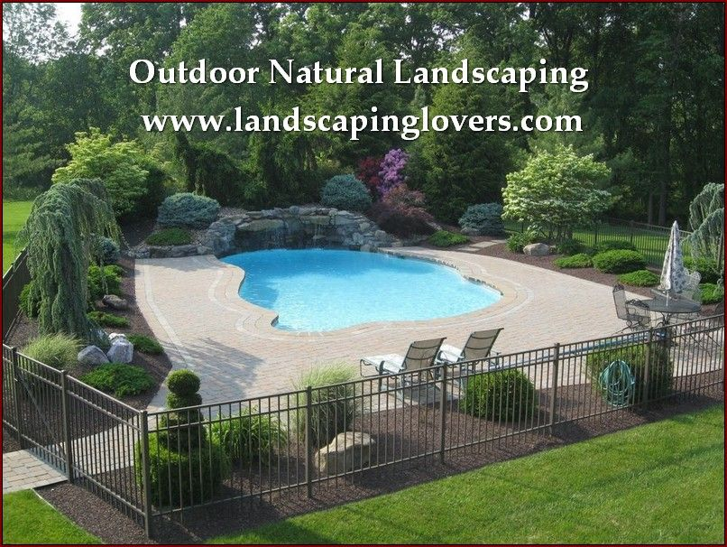 Landscaping Improvements With Professional Advice Learn More By Visiting The Swimming Pool Landscaping Inground Pool Landscaping Backyard Pool Landscaping