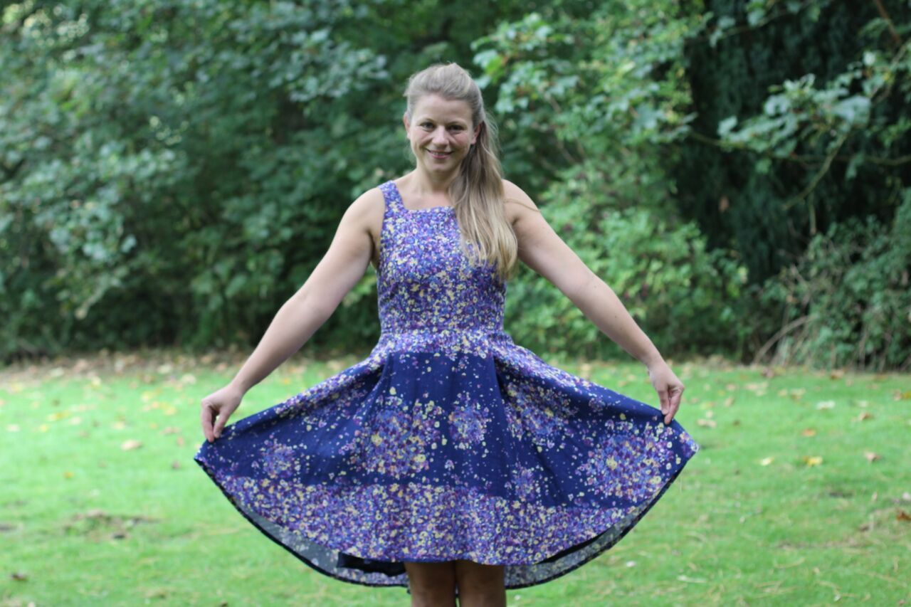 By Hand London Flora dress in Nani Iro double gauze www.jenni-smith ...