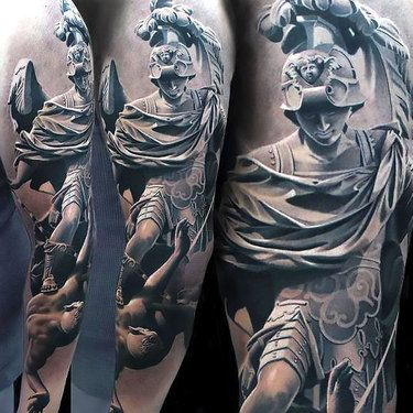 336 Great Tattoo Ideas Tattoos For Guys Statue Tattoo Greek Tattoos