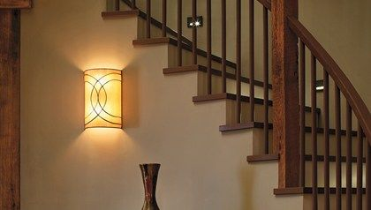 Wall Sconces For Staircase Google Search