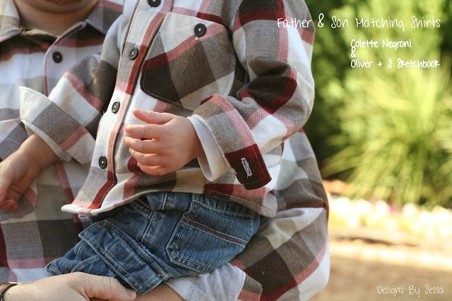 847d030a Custom Father/Son Matching Flannel shirts by Designs by Sessa ...