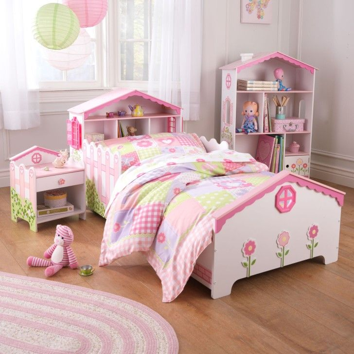 Impressive KidKraft Dollhouse Toddler Bed Offers Functional ...