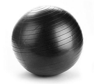 Mind Reader 75 CM Exercise Yoga Ball with QuickPump Included - QVC.com