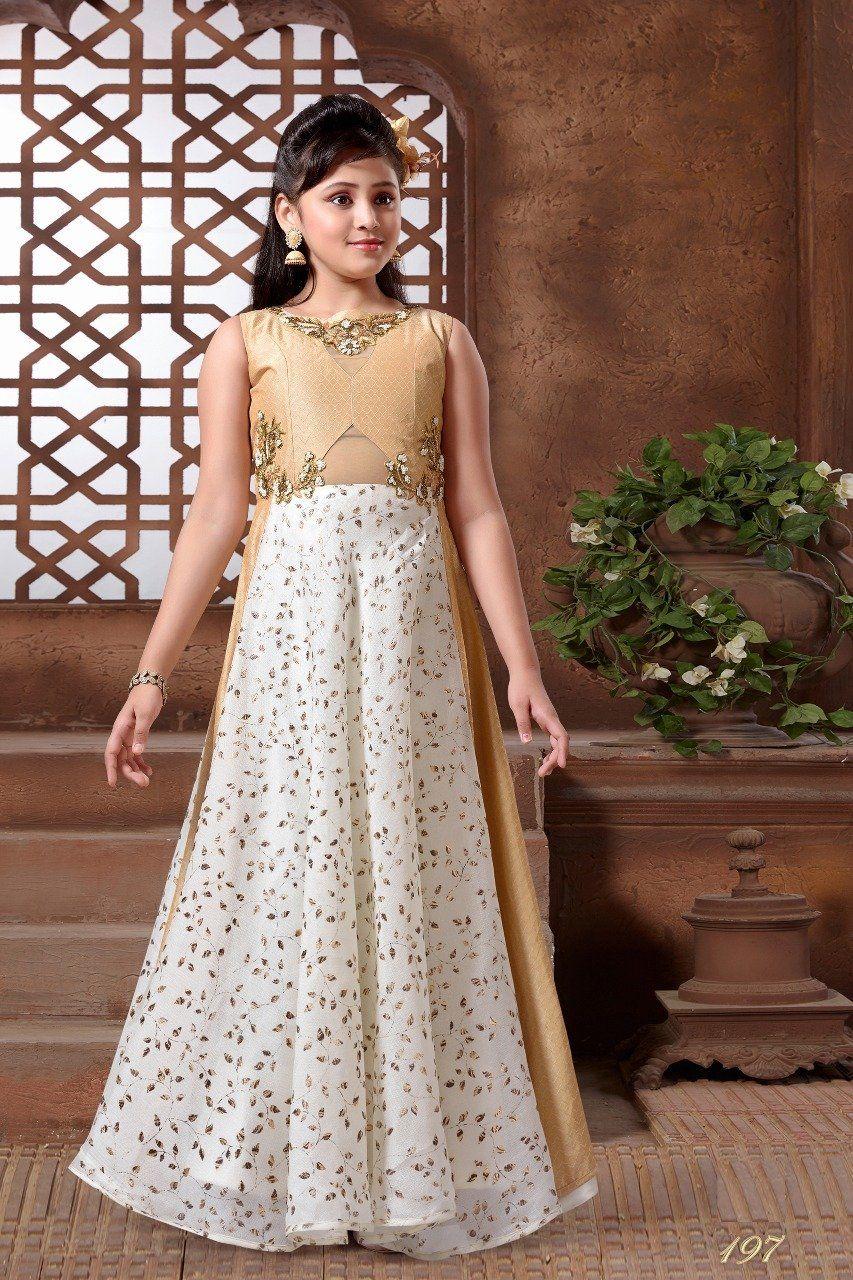 9994a5a139 Sparkling Silk Embroidered Kids Wear Dresses. Sparkling Silk Embroidered  Kids Wear Dresses Girls Fancy ...