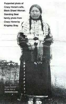 Black Shawl, wife of crazy horse | Native American Women | Pinterest ...