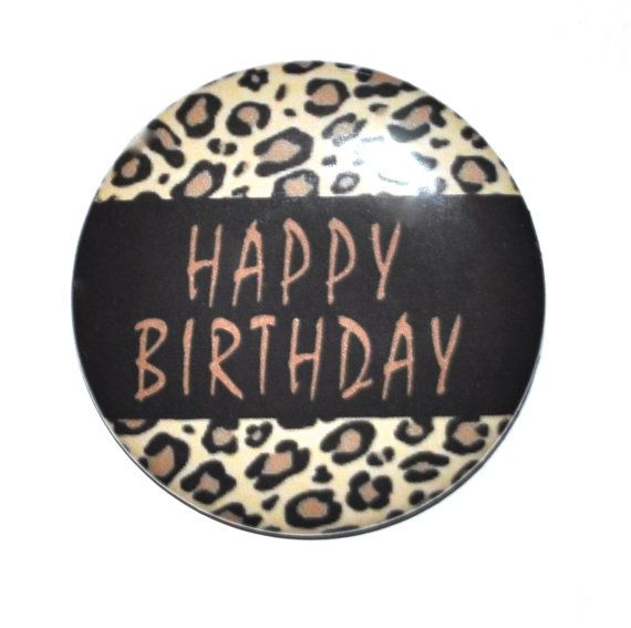 Happy Birthday With Leopard Print Animal Print Jungle Theme 2 1 4