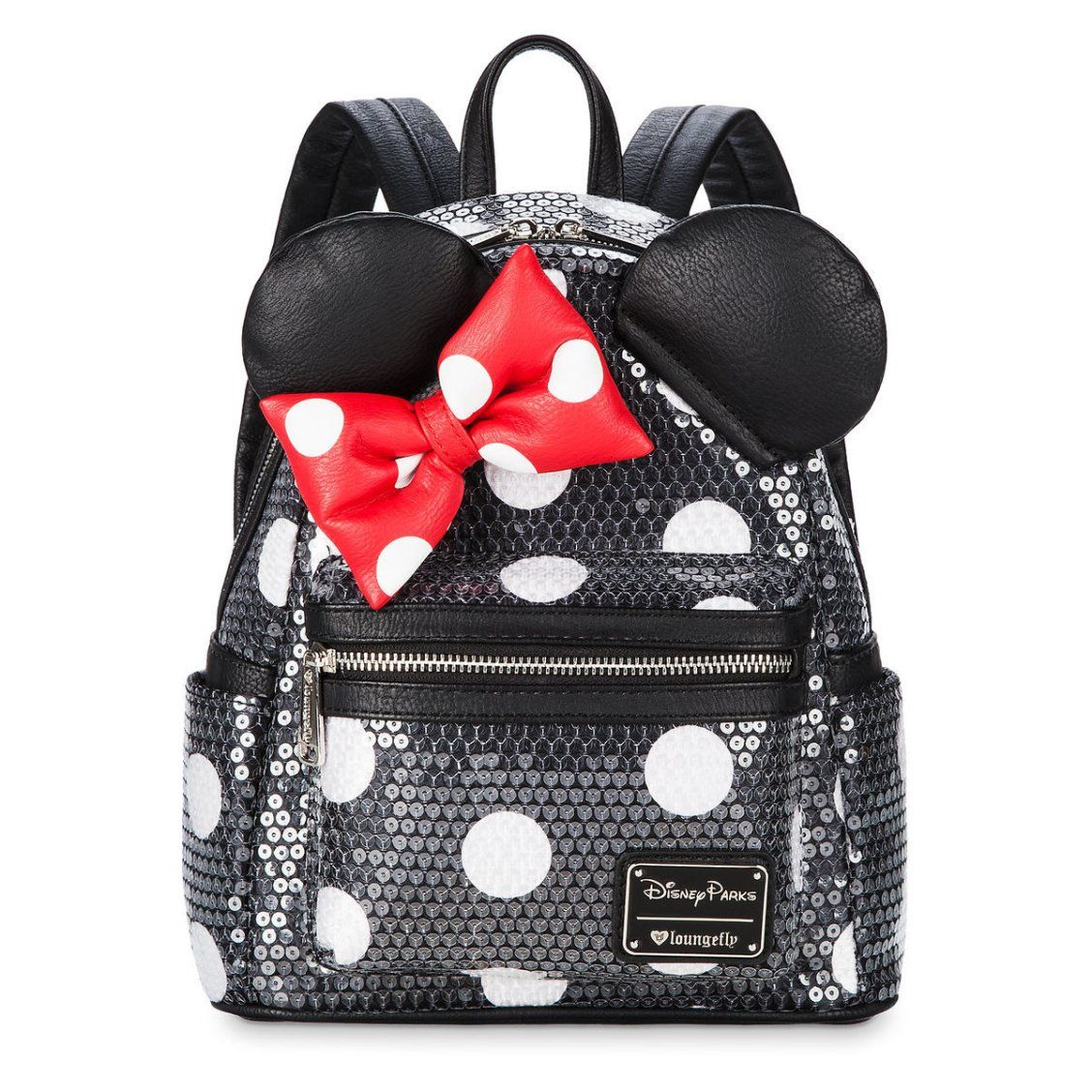 f69b39a36e Minnie Mouse Sequined Mini Backpack by Loungefly in 2019