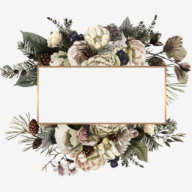 elegant wedding invitation frame