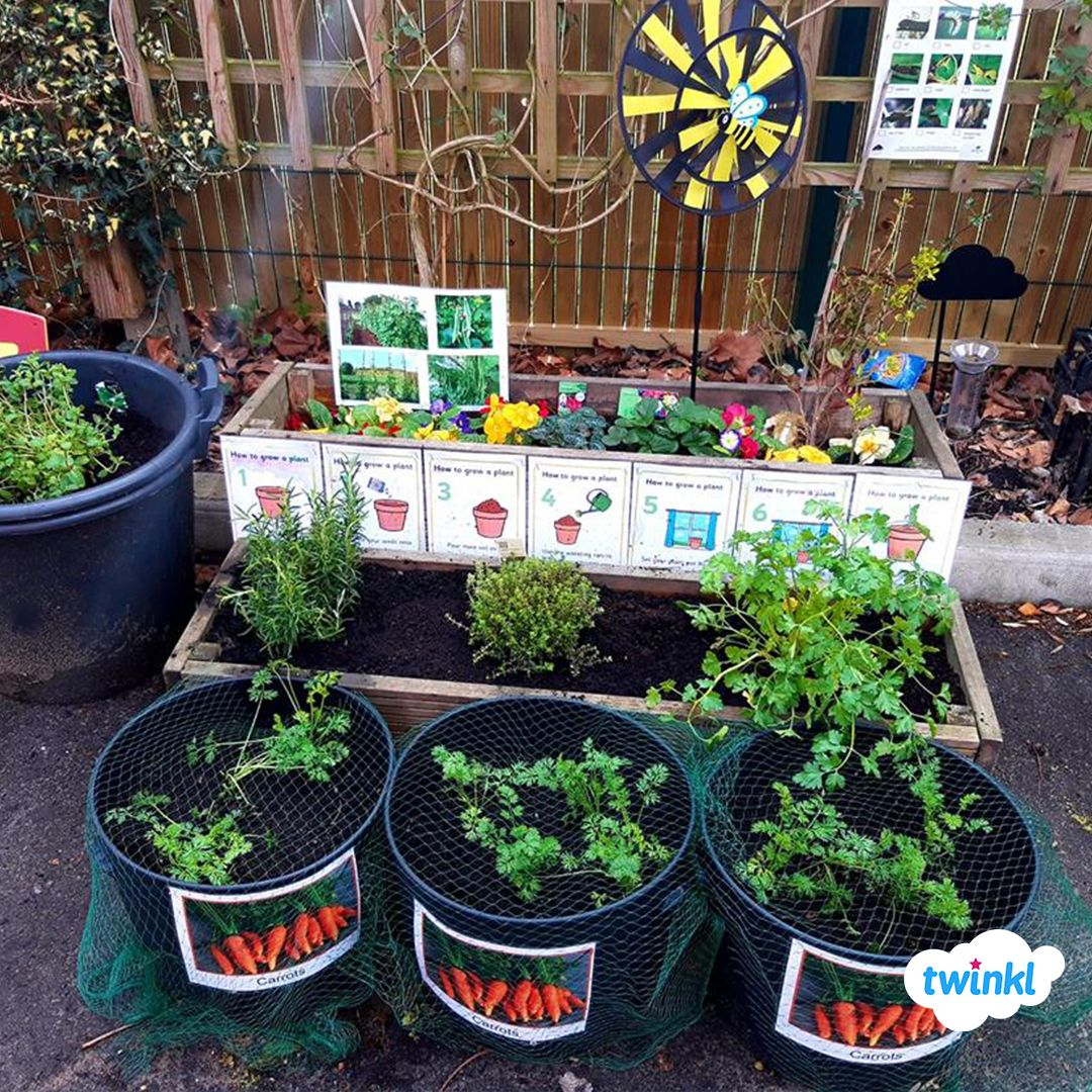 Outdoor Learning Early Years Garden Area Great For