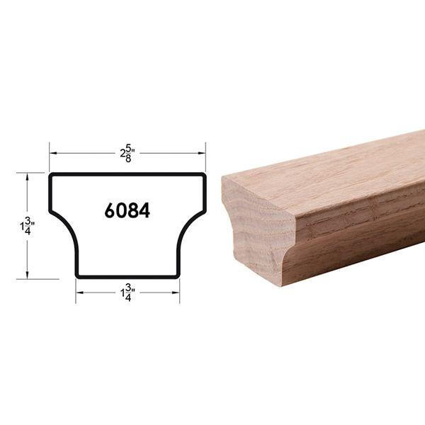 Wood Handrail, Oak Handrail
