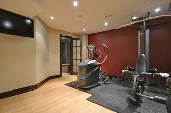 Basement Design - micheal lambie interiors