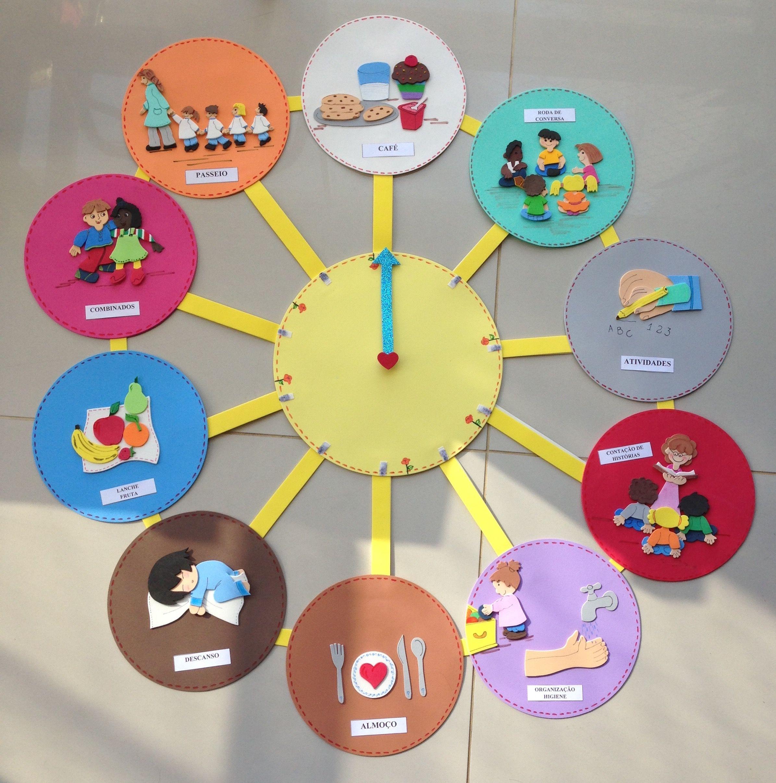 Relógio de Rotinas de Sala de Aula | učenie | Pinterest | School ...