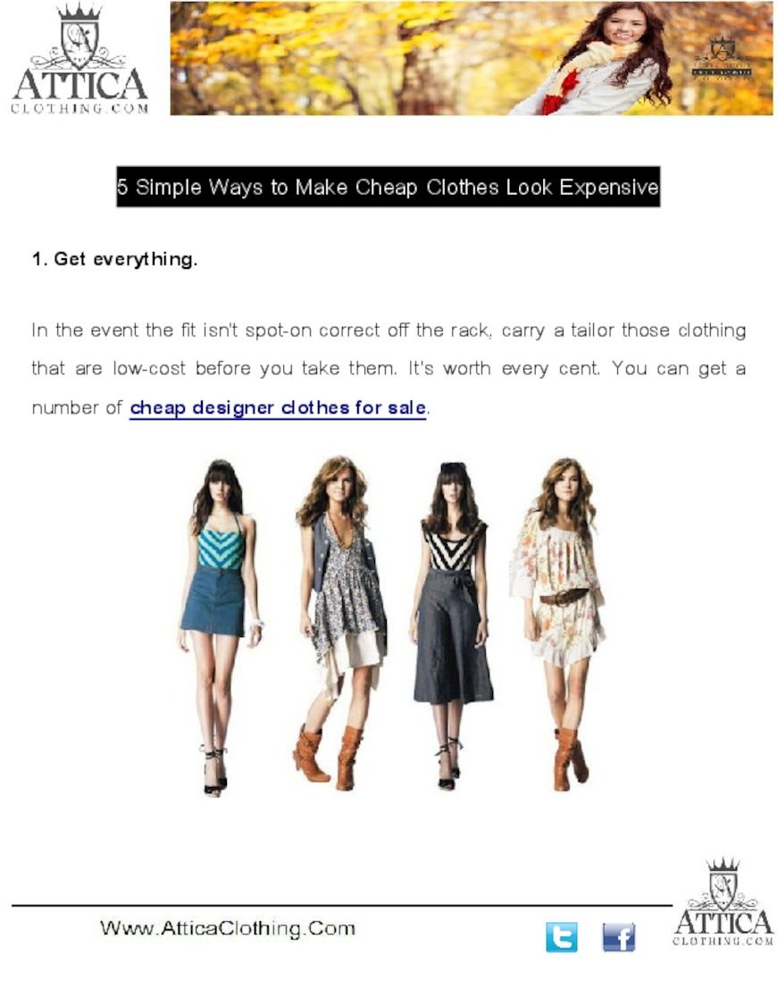 Where Can I Get Designer Clothes For Cheap | It S Worth Every Cent You Can Get A Number Of Cheap Designer