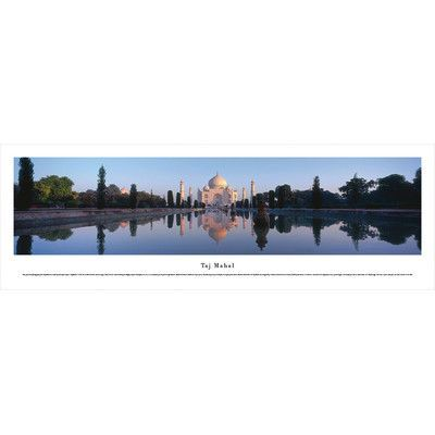 BlakewayPanoramas Icon Taj Mahal, India by Christopher Gjevre Photographic Print