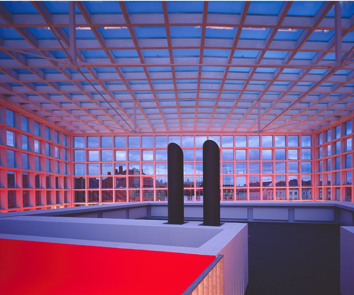 Braunschweig University Of Art S Library By Ksp Jurgen Engel Allemagne