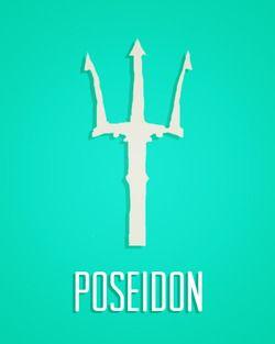 Poseidon Logos  |Poseidon Percy Jackson Symbol