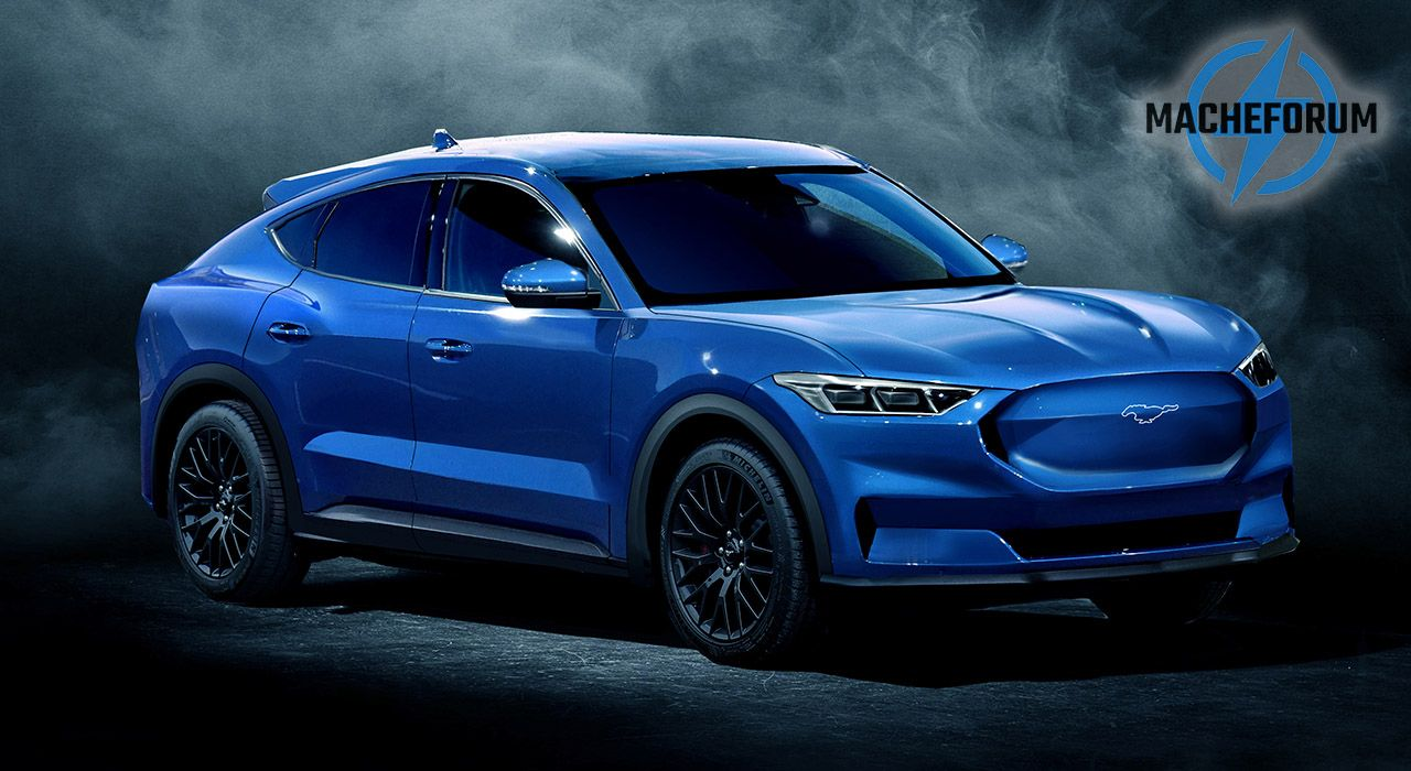 2021 Ford Mach E Digital Preview Show Mustang Cues Aplenty In 2020