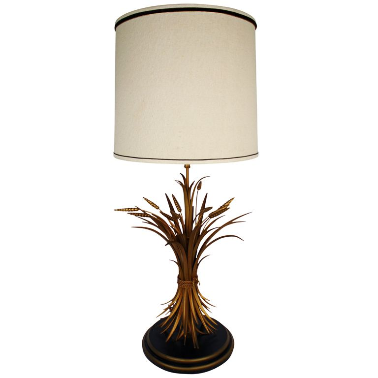Sheaf Of Wheat Table Lamp Table Lamp Lamp Home Decor