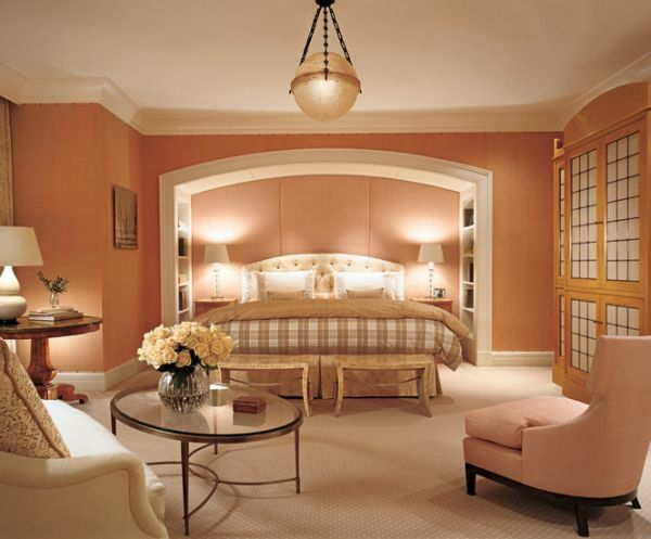 Peach Room Color Combination Feng Shui Schlafzimmer Farben