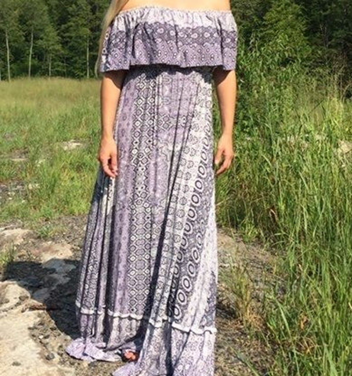 Photo of Lulu's Boho Maxi Dress