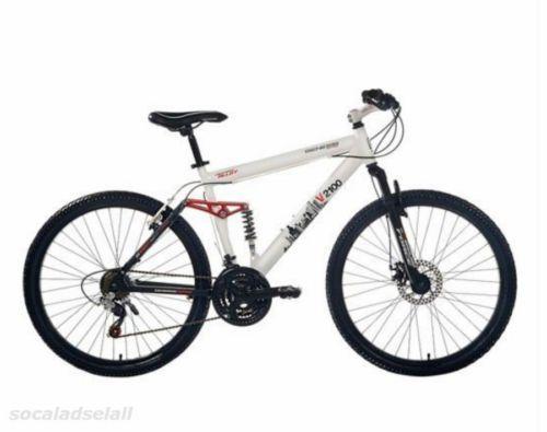 26 Genesis Men S Mountain Bike Full Suspension Shimano Aluminium Mtb 21 Speed Mens Mountain Bike Bicycle Full Suspension Mountain Bike