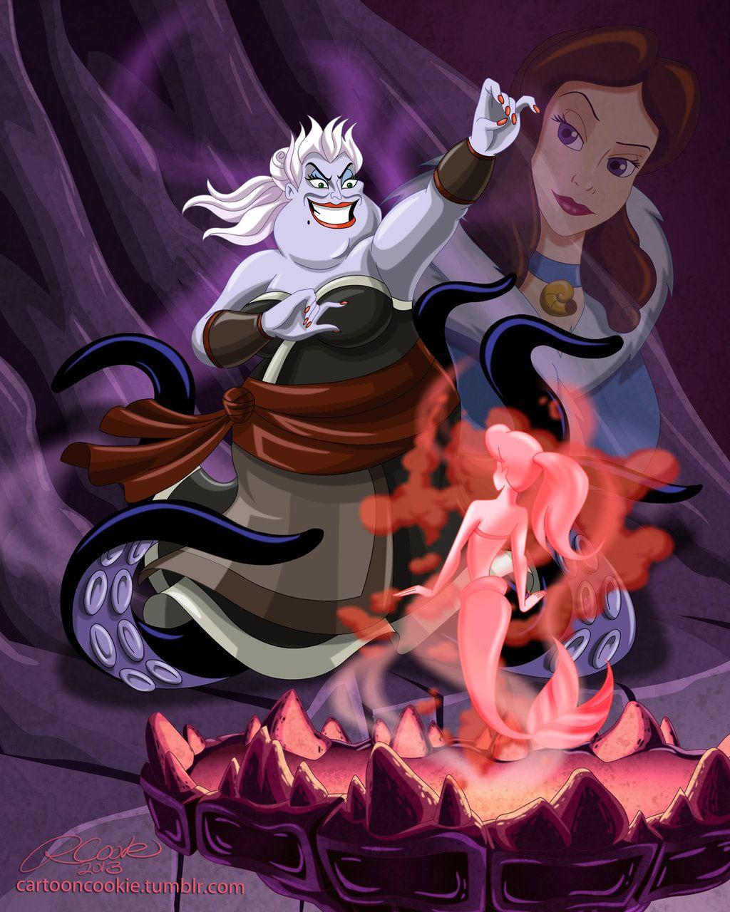 Disney/ Avatar Ursula, Blood Bending Sea Witch by racookie3.deviantart.com on @deviantART