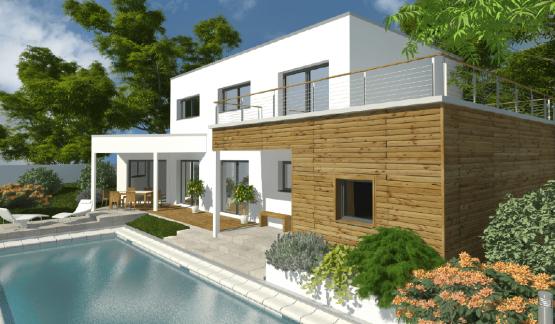 Plan Maison Design Modele Manille Personalisez Votre Maison Design Maison Toit Terrasse Constructeur Maison Maison Design