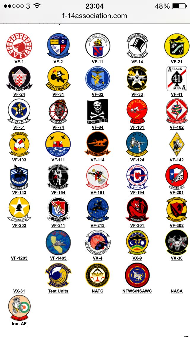 Sticker US Navy Fighter Squadron 31 Decal