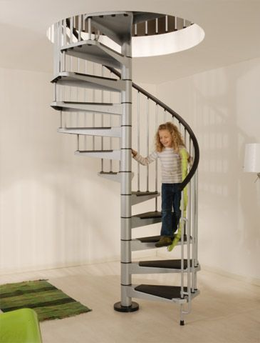 Steel Spiral Staircases