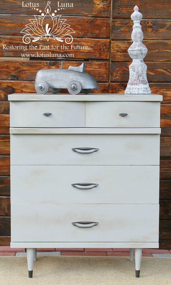 Best Grey Calathea Tall Mid Century Modern Dresser Mid 400 x 300