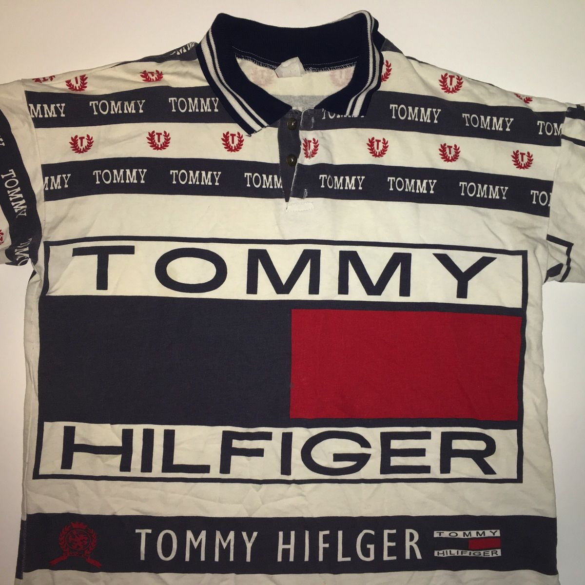 ee7d76287 Bootleg Tommy Hilfiger polo shirt. Find this Pin and more on 80s 90s  vintage clothing ...