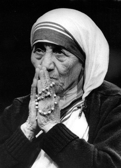 Mother Teresa Figurine St Teresa Calcutta Catholic Statue