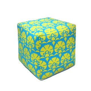 @Overstock.com - Handcrafted Drama Outdoor Pouf Ottoman (India)  $84.99