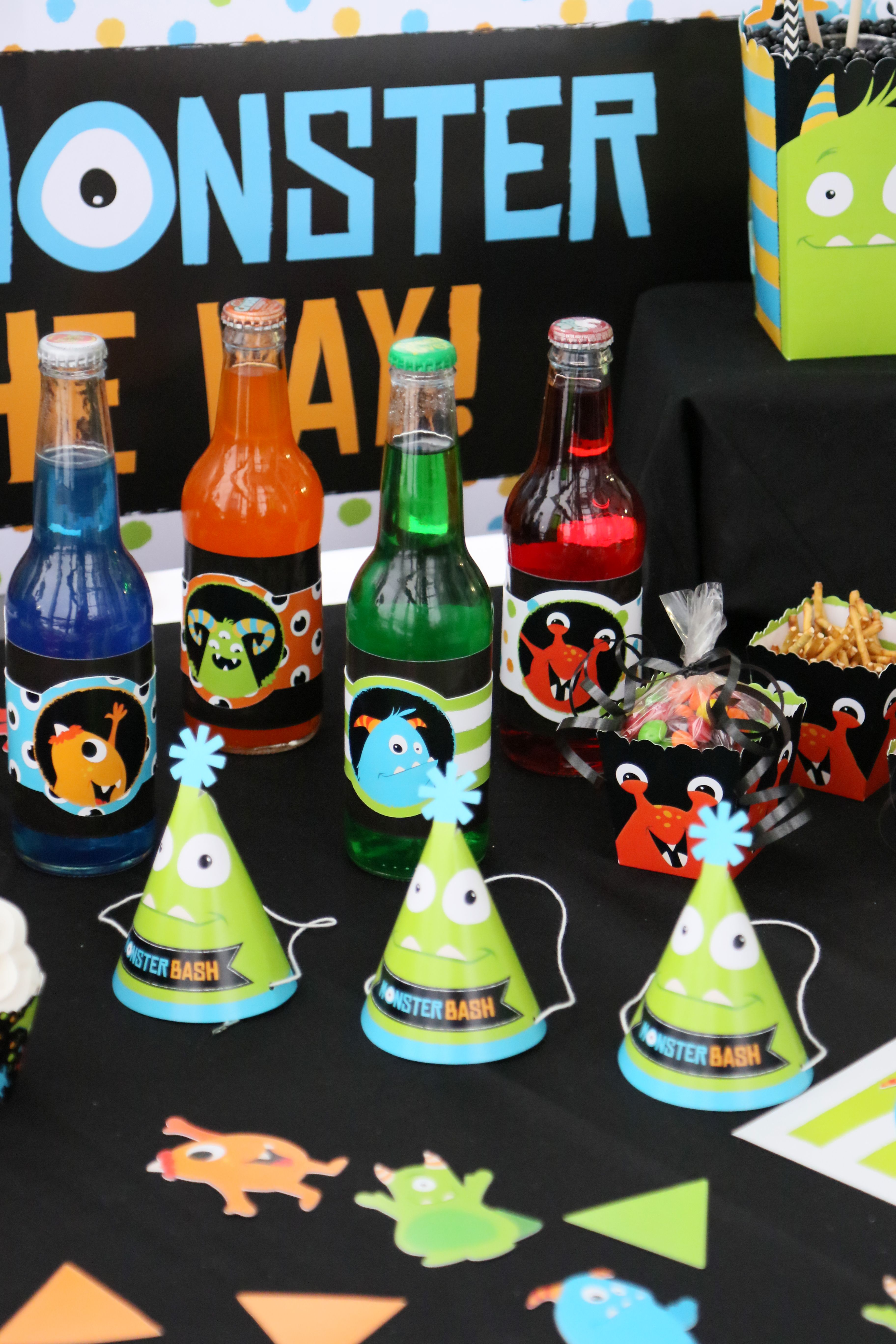 Monster Bash Party Decorations - Monster Party Supplies from