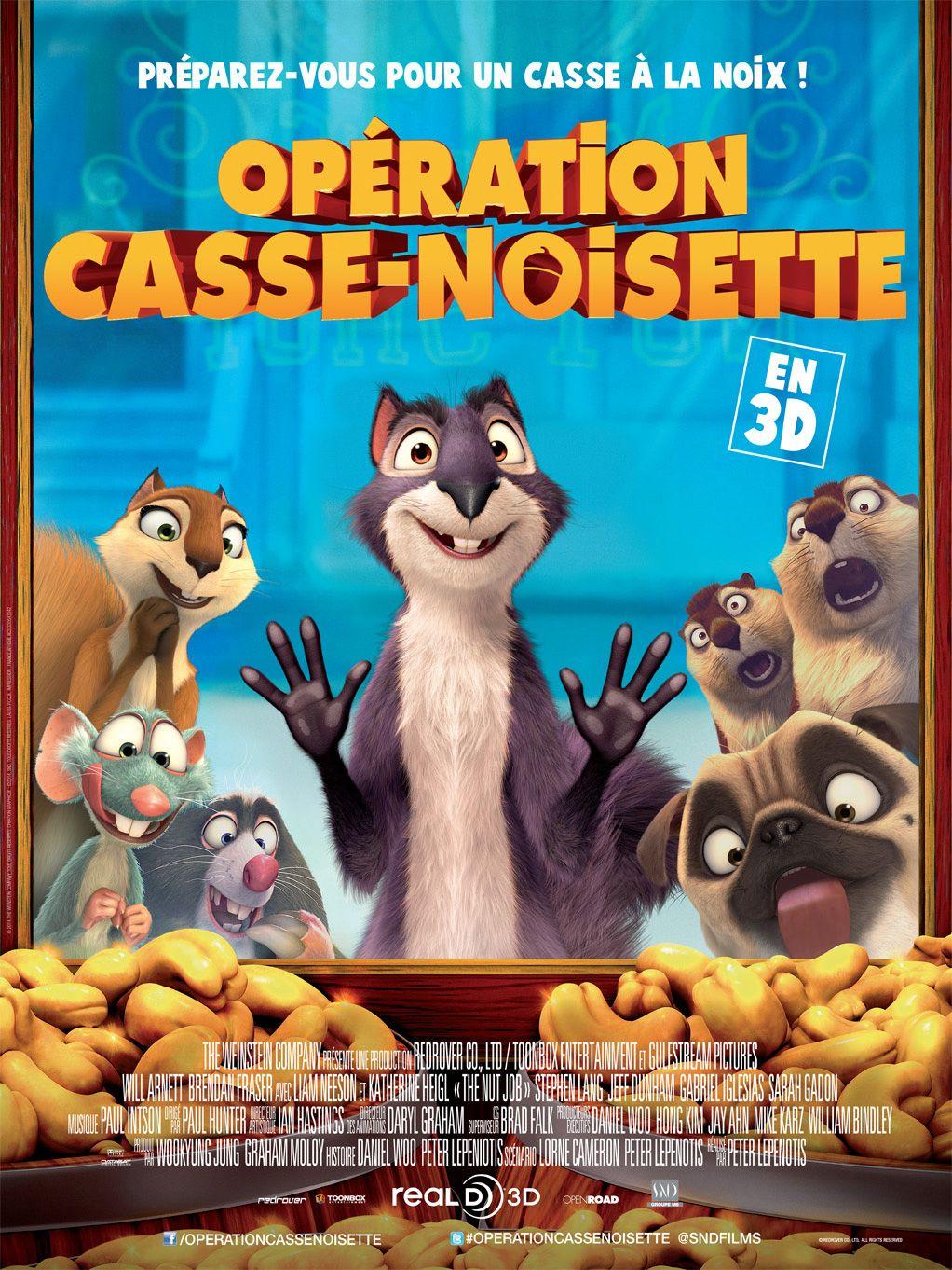 Mon Avis Sur Le Film D Animation Operation Casse Noisette Vraiment Decevant Il Porte Bien Son Nom Films Pour Enfants Casse Noisette Film