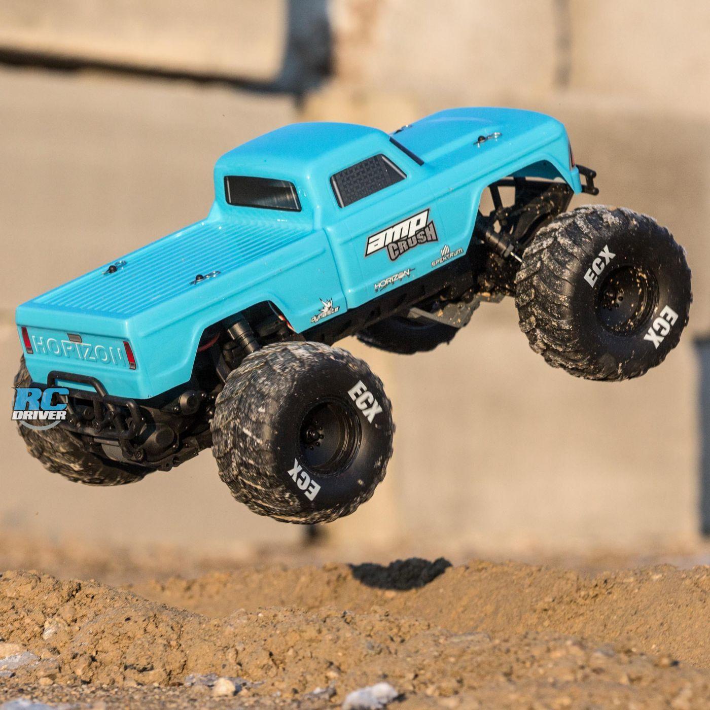 Ecx Amp Crush Monster Truck Rc Driver In 2020 Monster Trucks Trucks Rc Monster Truck