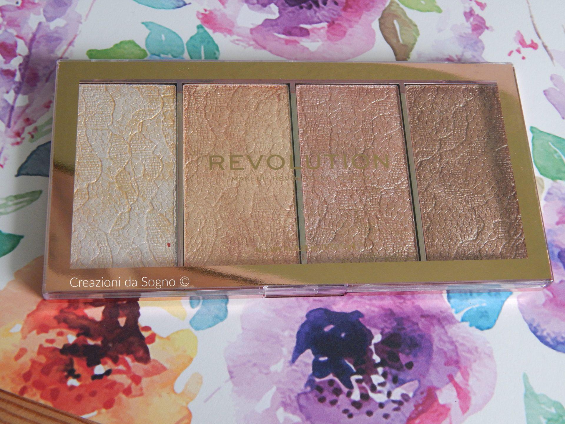 Review Vintage Lace Powder Highlighter Revolution Makeup
