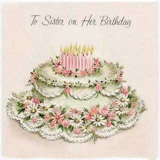 картинки винтажные с днем рождения